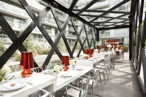 caged communal cafes scarpetta dining pavilion