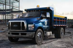 Ford Trucks 2016 2016 Ford F 650 And F 750 Commercial Truck Look