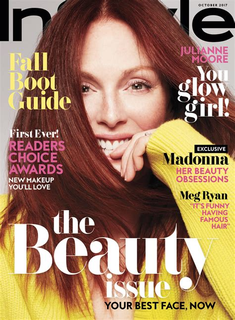 I This On In Style Magazines Site What Is In Your Bag julianne covers the october issue of instyle