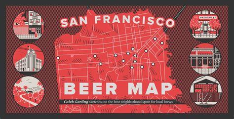 san francisco breweries map san francisco map the bold italic san francisco