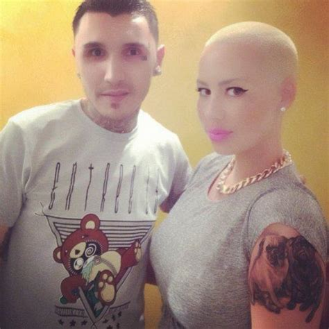 amber rose new tattoo gets large other and