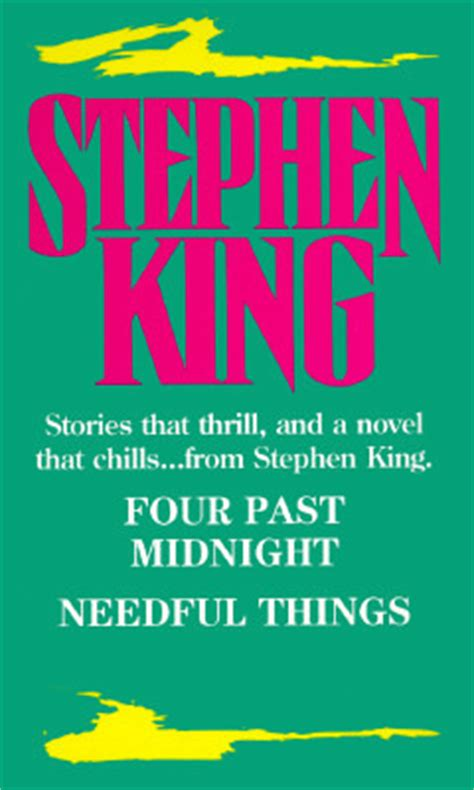 libro four past midnight four past midnight needful things by stephen king reviews discussion bookclubs lists