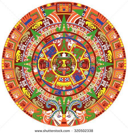 Sun Calendar Quot Aztec Sun Calendar Quot Stock Images Royalty Free Images