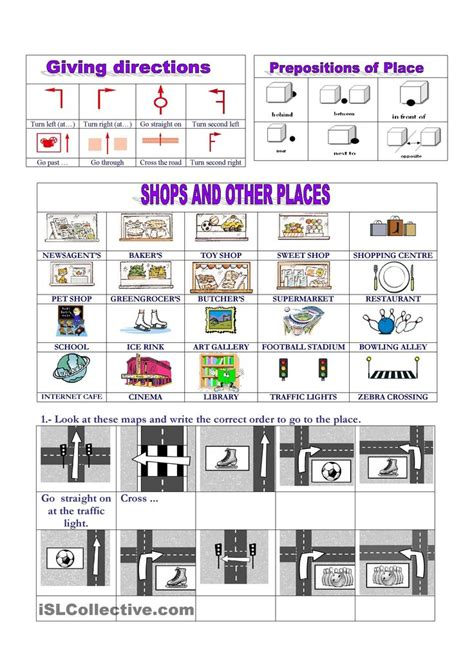 get printable directions 15 best asking and giving directions images on pinterest