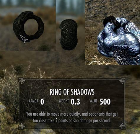 ring of shadows at skyrim nexus mods and community