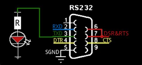 test porta seriale rs232 tester schematic rs232 free engine image for user