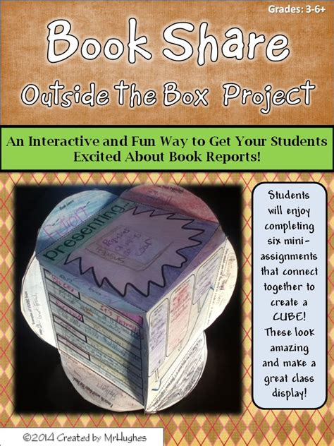 3d book report book report outside the box project narrative writing