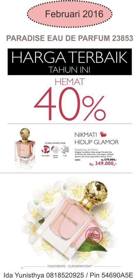 Promo Wanita Dirindu Surga promo harga diskon paradise eau de parfum edisi katalog oriflame februari 2016 hanya rp 349 000