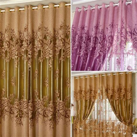 peony curtains aliexpress com buy free shipping luxurious upscale