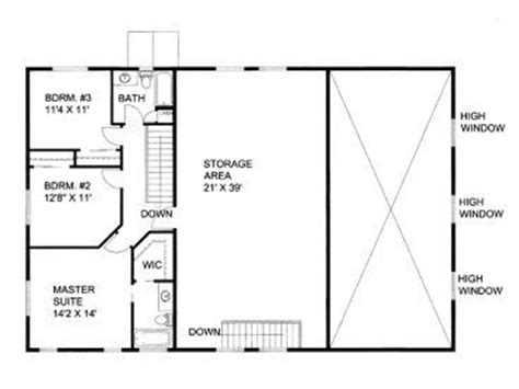 Garage With Living Quarters Floor Plans by The World S Catalog Of Ideas