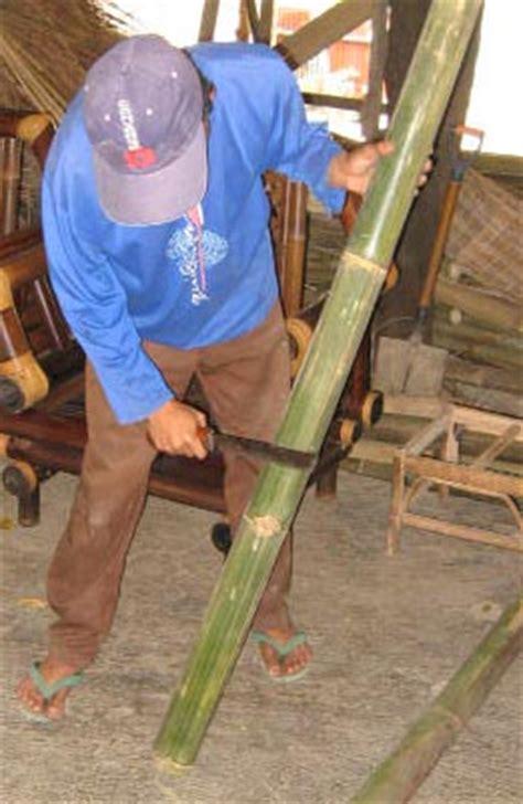 möbel aus rohren bambusm 246 bel oberfl 228 chenbehandlung m 246 bel aus bambus