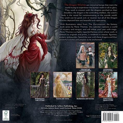 dragon witches calendar the nene thomas 2018 dragon witch fairy calendar fairyglen com