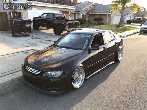 bagged is300 2003 lexus is300 bbs super rs k sport bagged