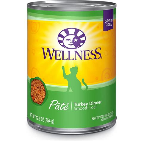 is wellness a food wellness cat food turkey 12 5 oz