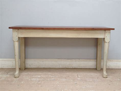 a3444 old kitchen side table console table