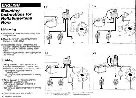 vwvortex 85 gti aftermarket horn wiring