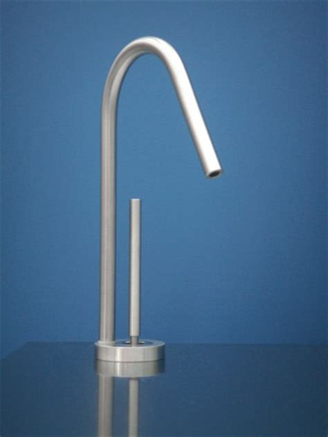 mgs designs wf p water filter kitchen faucet polished stainless steel faucetdepot com