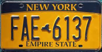 new york car license plate untitled document www plateshack