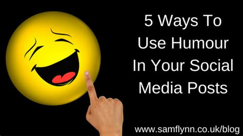 5 Useful Posts On Antb by 5 Ways To Use Humour In Your Social Media Posts Sam
