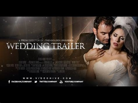 Wedding Trailer Template After Effects Project Youtube Trailer Template After Effects Project