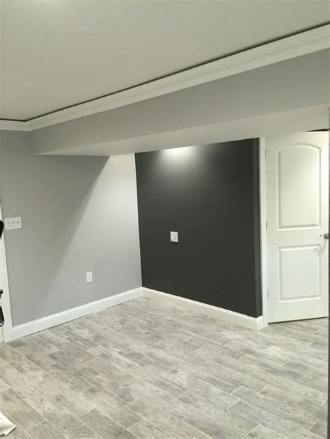 kendall charcoal benjamin and stonington gray amazing together basement ideas