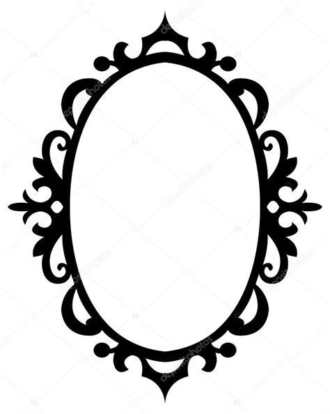 decorative oval border oval floral decorative frame stock vector 169 familyf