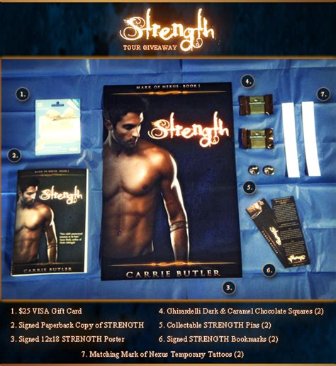 Giveaway Strength - strength release day juliana haygert