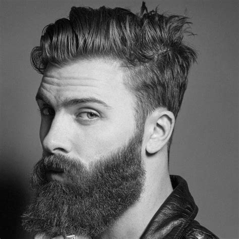 Cool Short Hairstyles and Beards For Men 2018   Men's