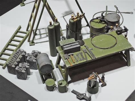 1 35 German Field Maintenance Team Tamiya Model Kit Mokit 37023 tamiya 1 35 german field maintenance team and equipment set