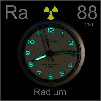 Ra Glow Pictures Stories And Facts About The Element Radium In