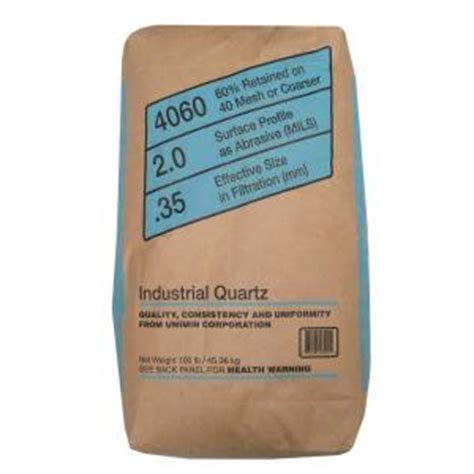 Silica Sand Home Depot by 100 Lb Silica Sand 520 100 4095 The Home Depot