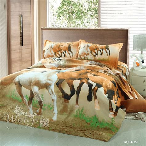 horse bed sheets popular horse duvet covers buy cheap horse duvet covers