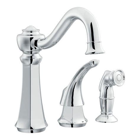 home depot kitchen faucet parts moen vestige 1 handle kitchen faucet in chrome 7065 the