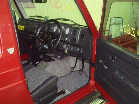 vehicle repair manual 1993 suzuki sj interior lighting 1995 suzuki jimny sierra pictures for sale