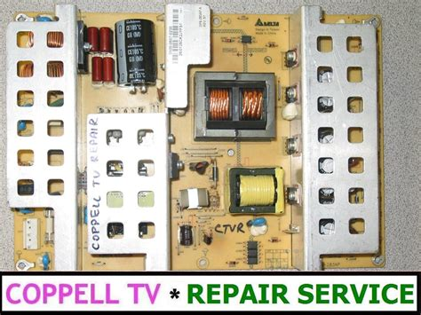 visio troubleshooting vizio l42hdtv10a power supply board repair service for