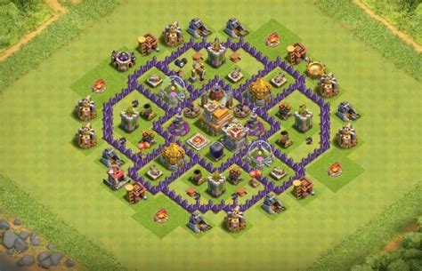 town hall 7 base images town hall 7 base layout farming www pixshark com