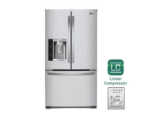 lg lfx25974 25 cu ft door refrigerator with pull