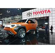 Toyota FT 4X Concept Is An FJ Cruiser For The Urban Jungle
