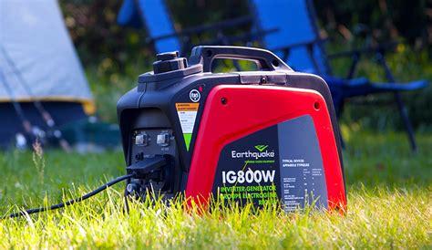 earthquake generator earthquake ig800w porta source generator review