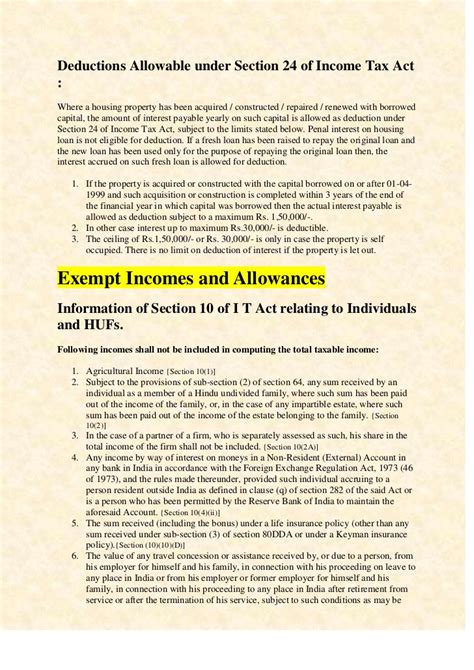 income tax section 80 tta income tax rates