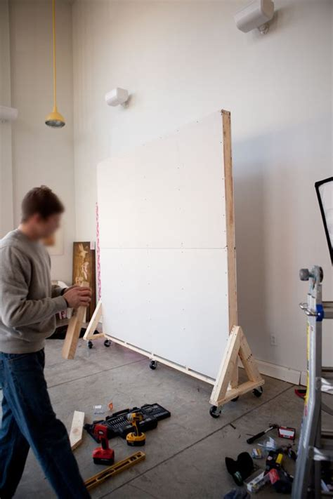 moveable wall movable wall on wheels moving wall pinterest movable walls galleries and tutorials