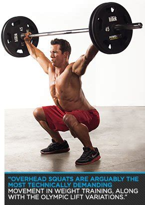 overhead bench squats raise the bar how to master the overhead squat