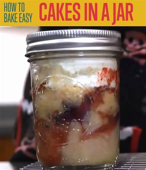 cakes in a jar recipe dishmaps