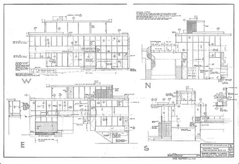 Richard Neutra Vdl Mcm Pinterest Site Plans And Neutra House Plans