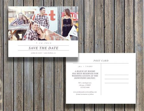 save the date cards templates photoshop save the date vintage postcard template 5x7 customizable