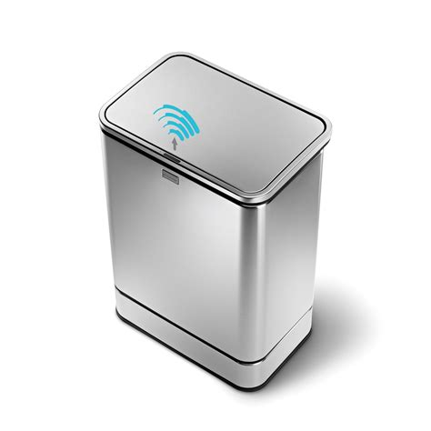 simple human des poubelles design et intelligentes