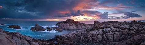 sunset time canal rocks western australia wallpapers hd