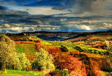 tuscan landscape paintings for sale tuscany - Tuscan Landscape