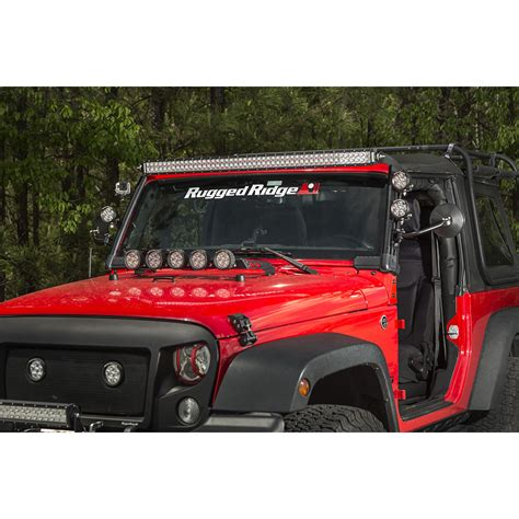 Rugged Ridge 15209 06 Led Light Bar 50 Inch 144 Watt Led Light Bar Jeep