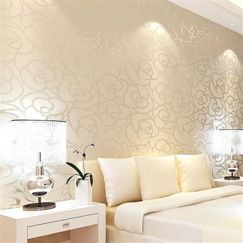 gold wallpaper in bedroom aliexpress com buy classic style velvet wallpaper gold
